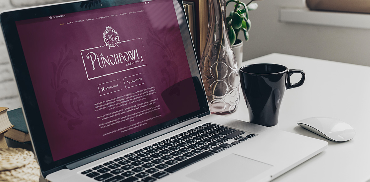 The Punchbowl Website design & build