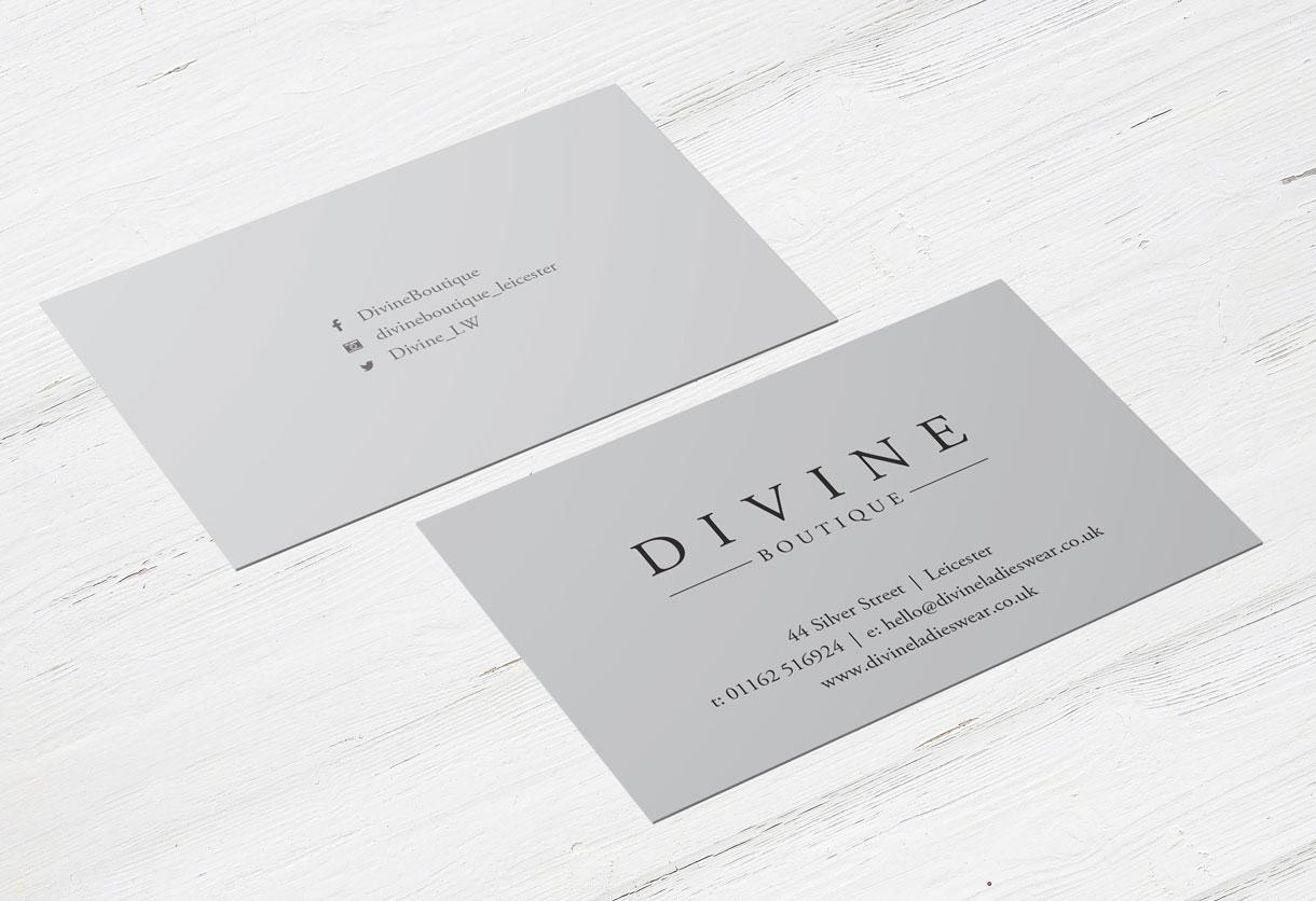 Divine Business card Design