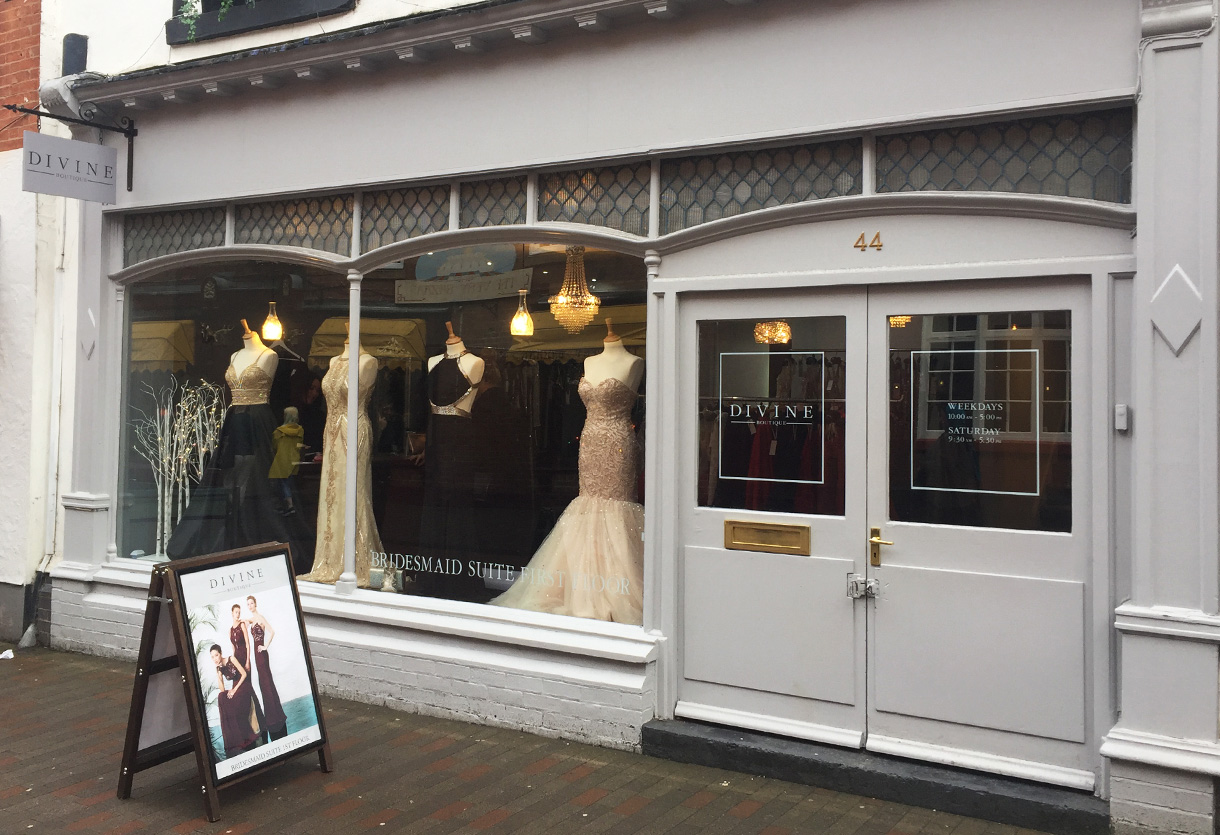 Divine-shop front