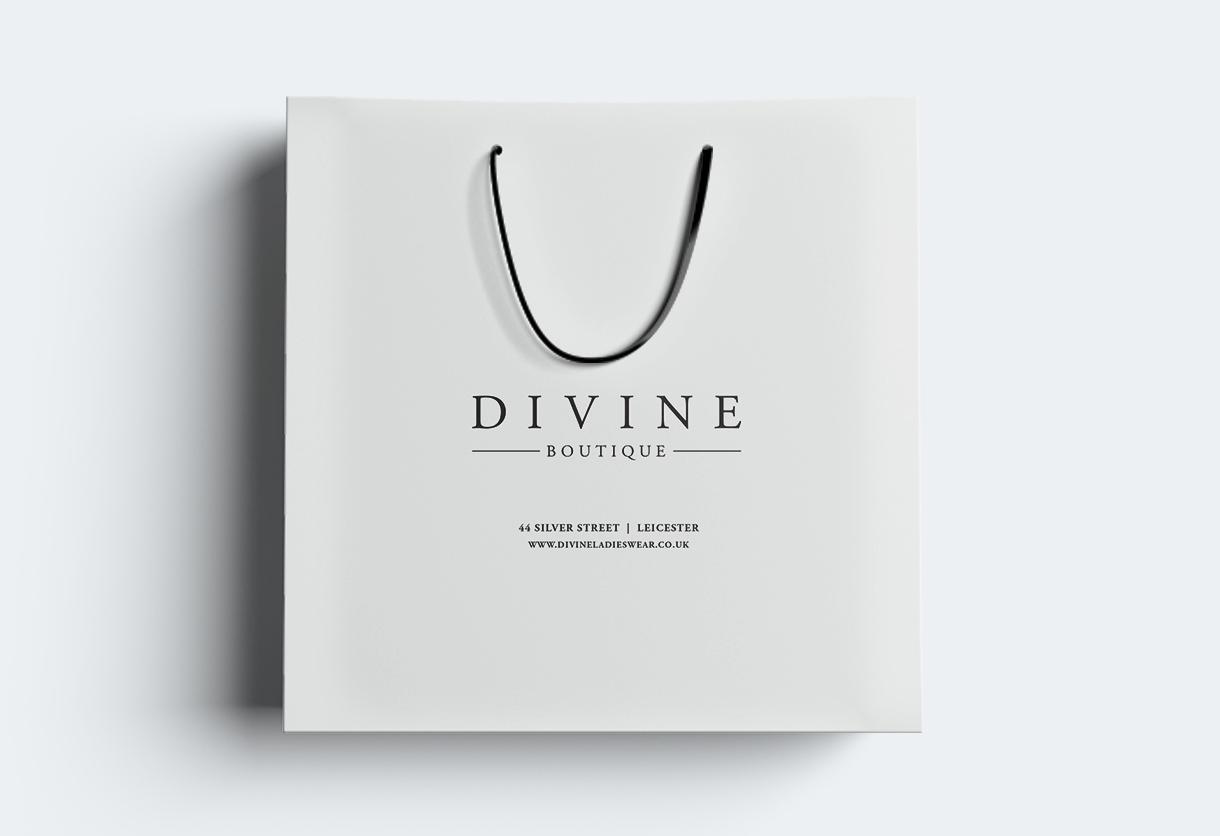 Divine shopping bag