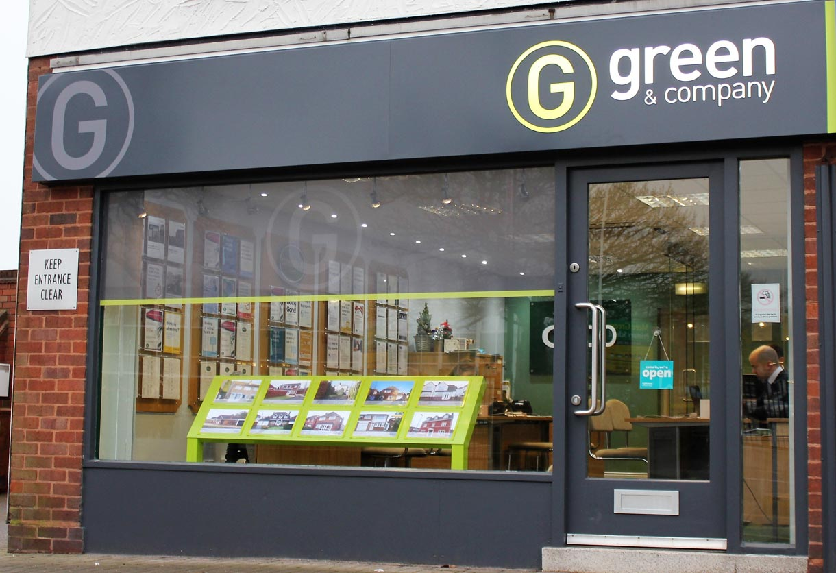 Green & Co shop front
