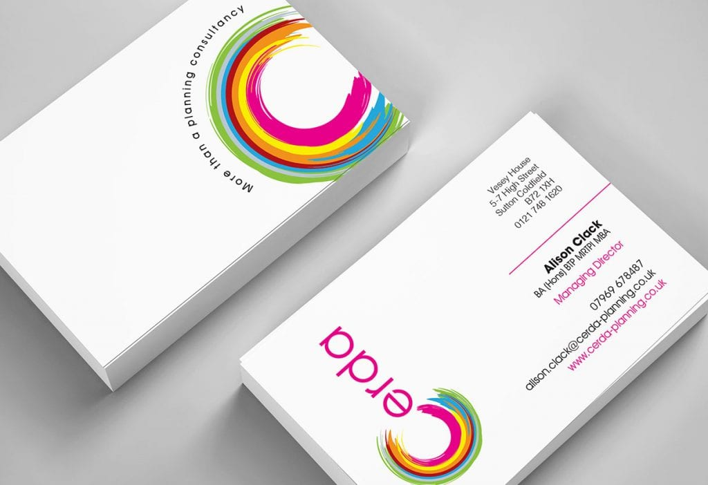 Cerda Planning Business Card