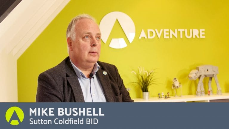 A Testimonial by Mike Bushell Sutton Coldfield Town Centre BID