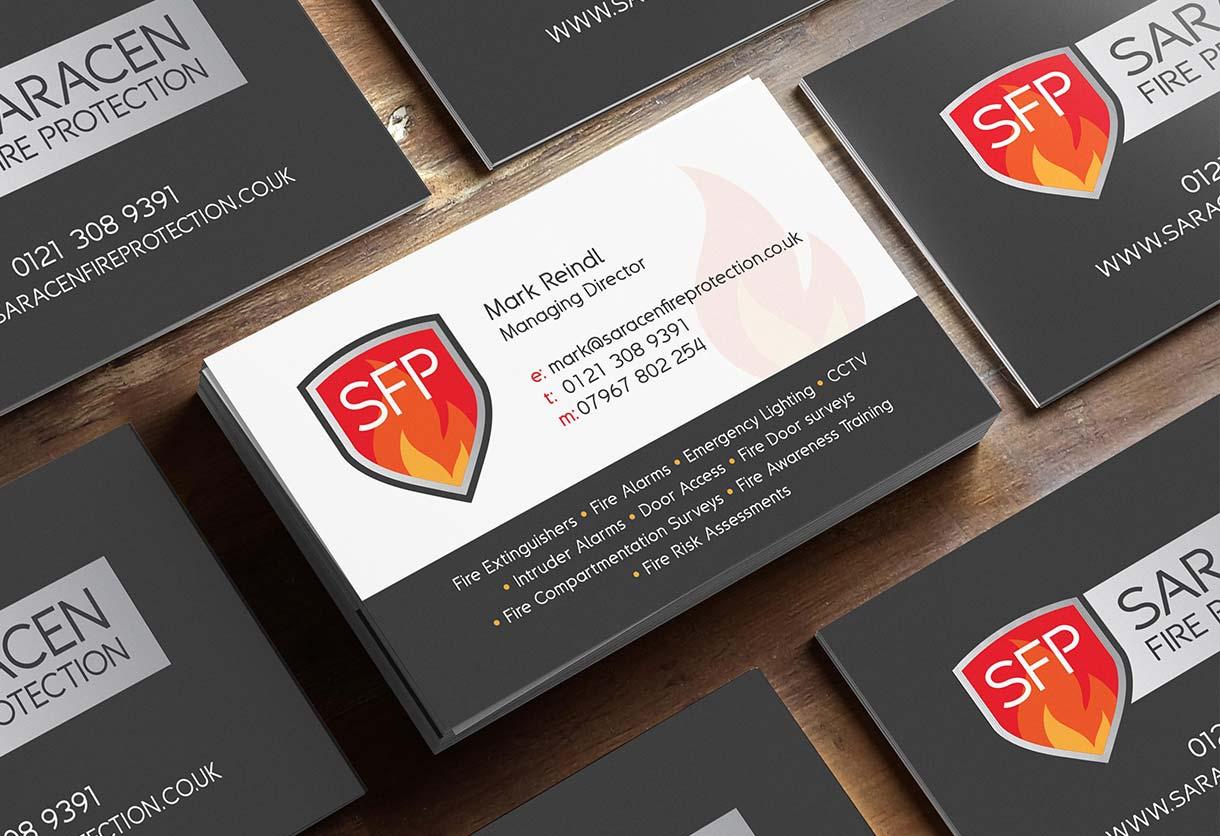 Saracen Business Card