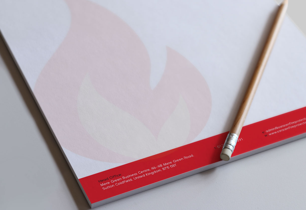 Saracen Letterhead Design & Print