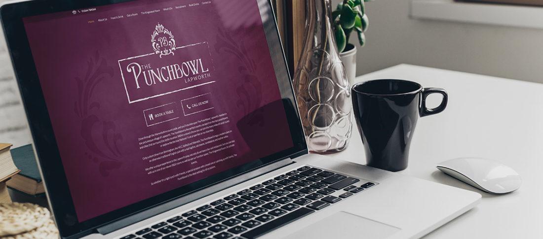 The Punchbowl Website design & build