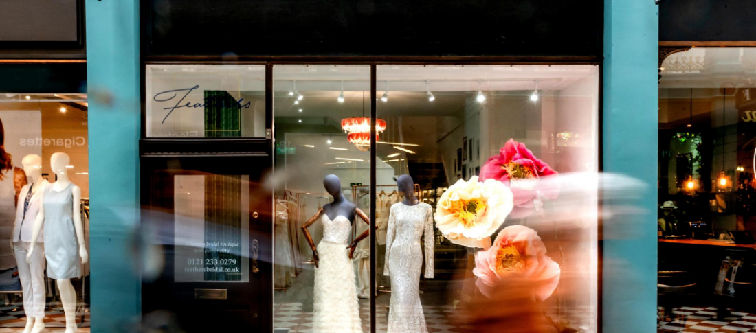 Corporate Photography example of store front by Lisa Carpenter Photography